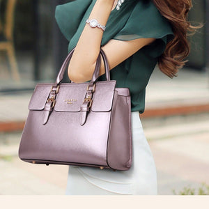 5-Piece Set Women Fashion Handbag And Purses Female Shoulder Bags Killers Pack Tote Bags