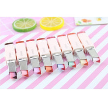 Load image into Gallery viewer, Double Color V Shape Gradient Lipstick Lip Gloss Long Lasting Candy Flavor