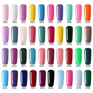 UV Gel Nail Polish UV Vernis Semi Permanent 8ML1pcs Gel Soak Off Nail Varnish
