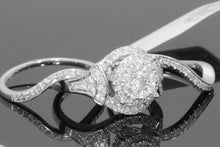 Load image into Gallery viewer, Exquisites Super elegantes 925 Sterling Silber Damen Ring Set