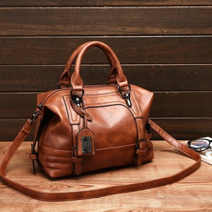 Women PU Leather Tote Satchel Purse Lady Messenger Handbag Shoulder Bags