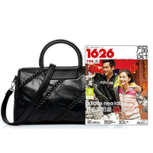 Load image into Gallery viewer, Genuine Sheep Leather Women HandBags High Quality Patchwork Sheepskin Woman Shoulder Bag