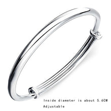 Load image into Gallery viewer, 925 Sterling Silver Bangle Royal Bracelet