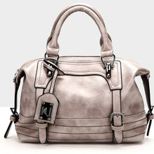 Load image into Gallery viewer, Women PU Leather Tote Satchel Purse Lady Messenger Handbag Shoulder Bags