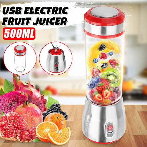 Mini USB Portable Mixing Machine Fruit and Vegetable Juicer / Blender 20W 400ML