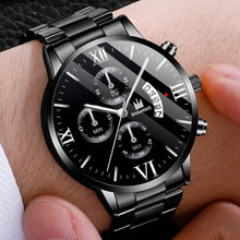 Load image into Gallery viewer, Luxuriöse Herren Klassik Stainless Steel Business Armband Uhr