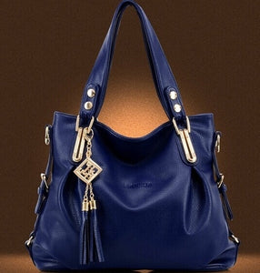 High Quality Women's Fashion Casual Leather Handbags Totes Purses