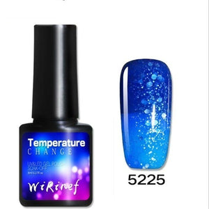 Temperature Color Changing Water-based Manicure Varnish Thermal Nail Polish