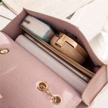Load image into Gallery viewer, Simple Small Square Bag Women's Designer Handbag High-quality PU Leather Chain Shoulder Bags