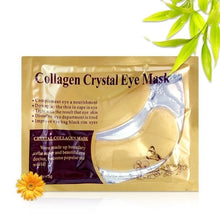Load image into Gallery viewer, Gold Kristall Collagen Augen Maske Patches