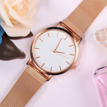 Load image into Gallery viewer, Luxury Casual Mesh Stainless Steel Watches for Women
