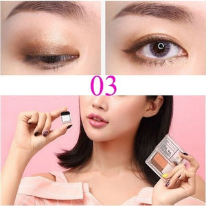 8 Style Quick Makeup 3 Seconds Eyeshadow Double Color