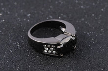 Load image into Gallery viewer, Luxury Black Sapphire Black 10KT Gold Filled for Men