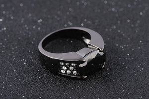 Luxury Black Sapphire Black 10KT Gold Filled for Men