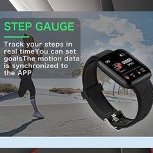 Load image into Gallery viewer, Modische Smart Fitness and Herz Tracker Watch OLED