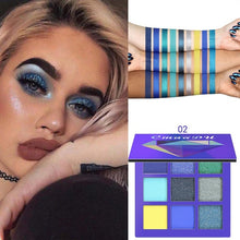 Load image into Gallery viewer, Charming Women Matte Eyeshadow Palette Smoky Eye Makeup