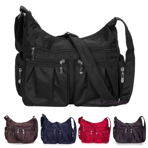 Top Modische Pocket Damen Handtasche