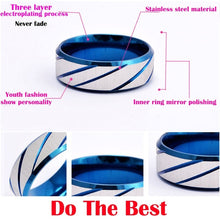 Load image into Gallery viewer, Men's Titanium Steel Ring Mirror Polishting