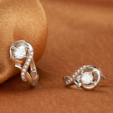 Load image into Gallery viewer, 925 Sterling Silver Infinite Diamond Earrings for Women
