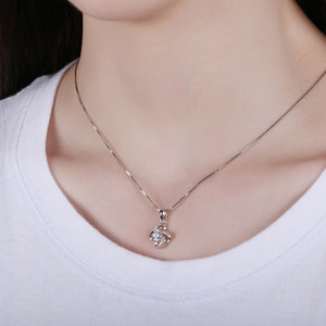 925 Sterling Silver Handmade Polished Cross Choker Necklace