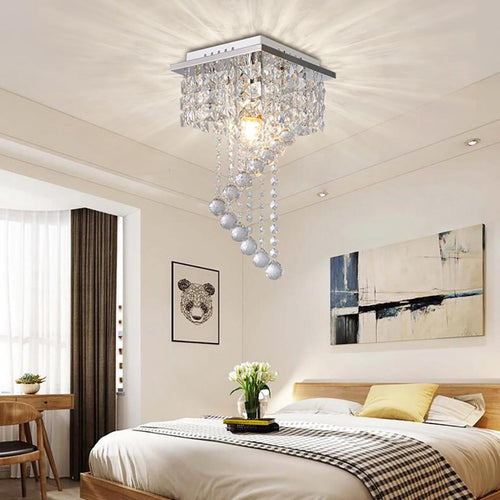 Tamiao Crystal Chandelier Pendeant Ceiling Lamp LED Modern Light Home Decor