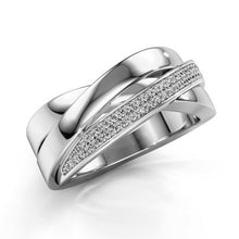 Load image into Gallery viewer, Eleganter und hochwertiger 925 Sterling Silber Saphir Damen Ring