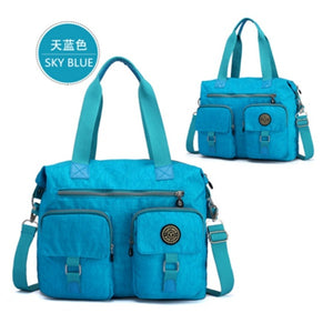 Woman Multifunctional Large Capacity Waterproof Nylon Shoulder Bags