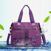 Load image into Gallery viewer, Woman Multifunctional Large Capacity Waterproof Nylon Shoulder Bags