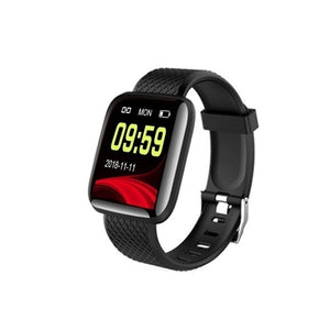 Modische Smart Fitness and Herz Tracker Watch OLED