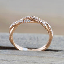 Load image into Gallery viewer, Wunderschöner 585 Solider Gold Damen Ring