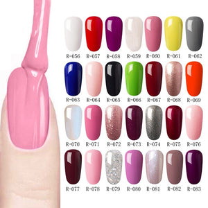 New fashion Grey Nude Wine Purple Series Soak Off UV LED Nail Gel Polish 8ml