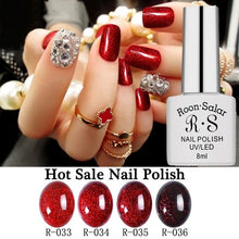 Load image into Gallery viewer, New fashion Grey Nude Wine Purple Series Soak Off UV LED Nail Gel Polish 8ml