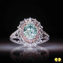 Load image into Gallery viewer, Sparking Emerald Ring with 925 Sterling Silver and Natural Gemstone for Women