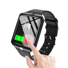 Load image into Gallery viewer, Herren Smart Watch mit Bluetooth Kamera und Sim Card für IOS & Android
