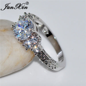 5.80/ct Lab diamond White Sapphire Wedding Ring