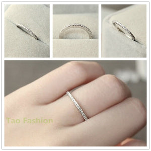 New Design 925 Sterling Silver Simulated Diamond Ring