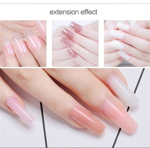 100pcs/set Professional Fiberglass Nail Extension