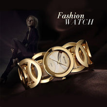Load image into Gallery viewer, Luxury Crystal Gold Watches Women Fashion Bracelet Quartz Watch