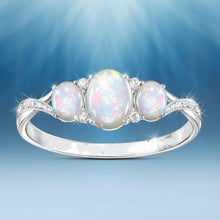 Load image into Gallery viewer, Exquisite 925 Sterling Silver opal zircon Ring for Woman