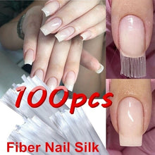 Load image into Gallery viewer, 100pcs/set Professional Fiberglass Nail Extension
