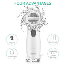 Load image into Gallery viewer, FRCOLOR 8 in 1 Electric Facial Cleaning Brush Electric Beauty Device