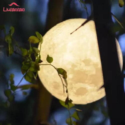 3D USB LED Magical Moon Night Light Moonlight Table Desk Moon Lamp