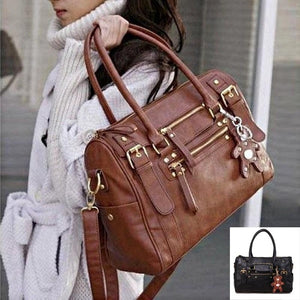 Women PU Leather Handbag Shoulder Messneger Bag Satchel Hobo Bag