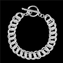 Load image into Gallery viewer, Exquisites 925 Sterling Silber Damen Armband