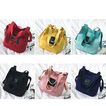 Load image into Gallery viewer, Women´s Canvas Shoulder Bag Outdoor Girls Crossbody Tote Handbag