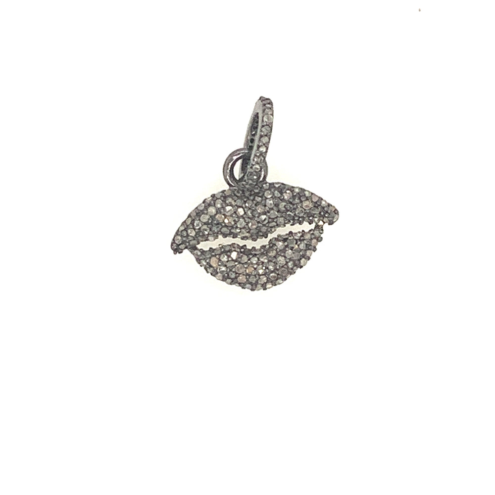 Sterling Silver Baby Lips Pendant