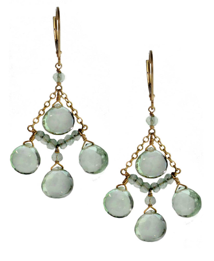 Triple Chandelier Earrings