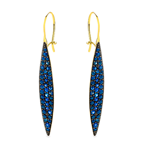 Odette  Blue Sapphire Earrings