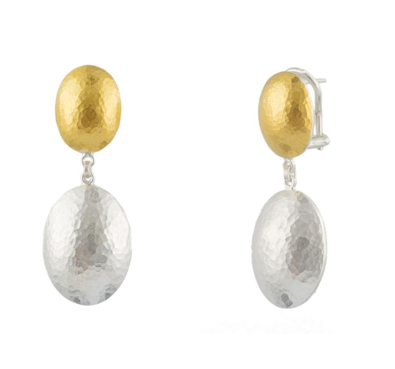 Jordan Oval Drop Earrings