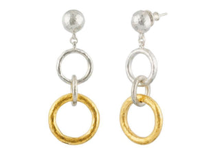 Circles Dangle Earrings